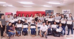 El acto se llevó a cabo en el Centro Comunitario de Remansito de la ciudad de Villa Hayes.