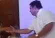 El concejal municipal de Ciudad del Este, Teodoro Mercado (PLRA) presentó este lunes su candidatura para intendente de la capital del Alto Paraná. Foto: Captura de video de Orlando Paiva.
