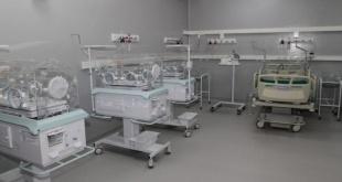El servicio de cuidados intensivos para niños.