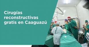Las cirugías se realizarán los días 10, 11 y 12 de abril, en el Hospital Escuela Indígena Tesãirã Rekavo, de Kambay, en Caaguazú.