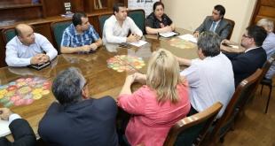 Como primera actividad de este encuentro que busca mecanismos viables de trabajo.