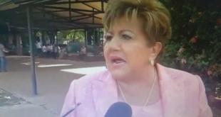 La titular del Tribunal Superior de Justicia Electoral, María Elena Wapenka. Captura de Pantalla.
