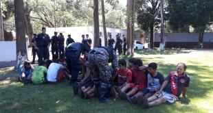 Varios campesinos fueron imputados. Foto: Gentileza.