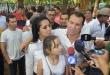 Wilberto Cabañas, virtual ganador de las internas de la ANR. Foto: Andrés Zárate - ADN Paraguayo.