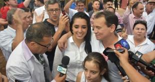 El precandidato de Añetete acompañó el conteo de votos en el CRECE. Foto: Andrés Zárate - ADN Paraguayo.