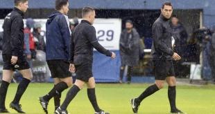 El argentino Facundo Tello (i) será el árbitro principal para el duelo entre Cerro Porteño y Zamora.