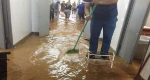 """Arreglamos ya prácticamente un 98% del hospital"", dijo Luis Alberto Prats Rodas, director del Hospital Materno Infantil de Calle'i."