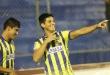 Los goles para el local hicieron Jorge Paredes y Samuel Cáceres. Por su parte, Iván Franco anotó el único tanto de los gumarelos. Foto: César Olmedo - ADN Paraguayo.