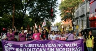 Mujeres marcharán este viernes en defensa de sus derechos.