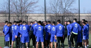 """La Albirroja entrenará este jueves, a las 16:30 en el """"Red Bull Training Facility"""", en Nueva Jersey. Foto: @Albirroja."""
