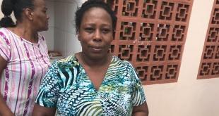 Simara Silva relató los momentos de terror que vivió.