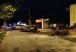 El accidente de tránsito ocurrió en la intersección de la calle Inglaterra y la avenida Teniente Américo Pico. Foto: @Wilcardozo.