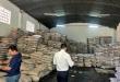 Procedimiento durante el cual se incautaron unos 200 mil kilos de azúcar presumiblemente de contrabando, en la ciudad de San Lorenzo.