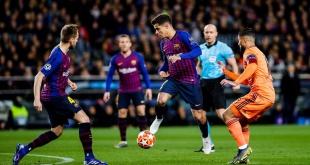El argentino Lionel Messi metió dos goles, mientras que los restantes los hicieron Philippe Coutinho, Ousmane Dembelé y Gerard Piqué. Foto: @FCBarcelona_es.