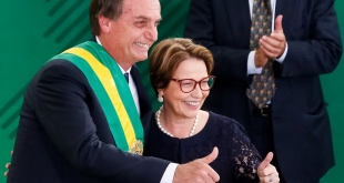 El presidente brasileño recordó el Día Internacional de la Mujer.