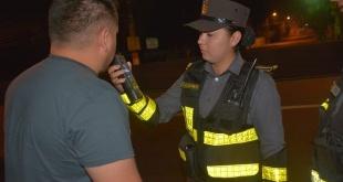 Solo en el Departamento Central se retuvo a 297 individuos que no pasaron la prueba del alcoholímetro.