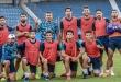 El plantel de Cerro Porteño que disputa la Copa Libertadores. (Foto Prensa Cerro)