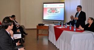 La charla será dada en la Gobernación del Alto Paraná.