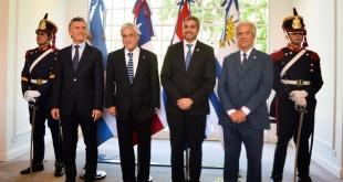 La candidatura inicialmente fue presentada por Argentina y Uruguay, a la que sumó Paraguay en octubre de 2017, y ahora se integra Chile.