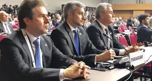 La delegación de Paraguay ante la Cumbre de Naciones Unidas sobre la Cooperación Sur-Sur. Es encabezada por el Presidente Mario Abdo.