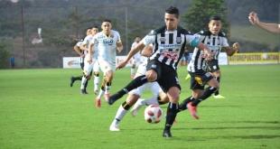 Deportivo Santani y Guaraní igualaron 1-1 a orillas del Tapiracuái. (Foto Prensa Santani)