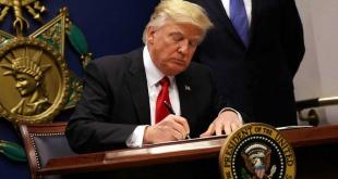 Anteriormente, Donald Trump prometió que vetará la resolución en caso de que llegue a su escritorio.