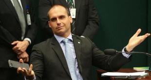 El diputado federal Eduardo, hijo del presidente Jair Bolsonaro.
