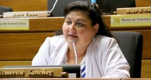 Esmérita Sánchez, diputada del PLRA, por Caaguazú.