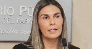 La agente fiscal Lorena Ledesma.