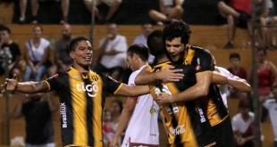 Guaraní fue mejor en el trámite en general y se quedó con los tres puntos. (Foto APF).