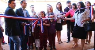 Las autoridades municipales inauguraron las mejoras hechas con recursos del Fonacide.