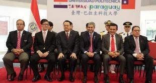 La ceremonia se llevó a cabo en la mañana de este lunes en el Centro Salón Medallistas del Comité Olímpico Paraguayo, en la ciudad de Luque. Foto:  @PresidenciaPy.