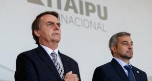 Jair Bolsonaro y Mario Abdo Benítez se encuentran por tercera vez, en esta oportunidad en Brasilia y para dar inicio a las conversaciones sobre la renegociación del Anexo C de Itaipú Binacional.