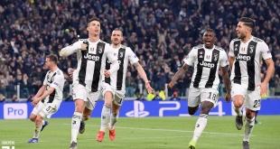 El delantero portugués Cristiano Ronaldo anotó los tres goles. Foto: @juventusfces.