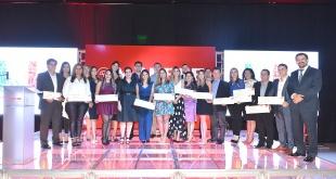 Los Integrantes de Grupo Mapfre Ganadores.
