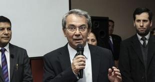 El viceministro de Industria, Luis Llamosas.
