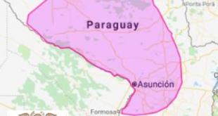 El fenómeno climático afectará a la zona del Chaco y la Región Oriental, mañana sábado 16 de marzo del 2019.