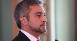 Mario Abdo Benítez, presidente de la República del Paraguay. Foto: @PresidenciaPy.