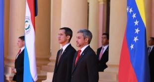 Este viernes Guaidó realizó una visita a nuestro país. Foto: @MaritoAbdo.