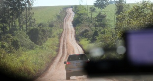El tramo Puerto Indio- Mbaracayú tiene cerca de 61 kilómetros.