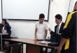 El acusado contó con la asistencia del defensor público, Daniel Ávalos.