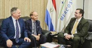 La empresa Tadiran, de Israel, expresó su interés en invertir en Paraguay, específicamente en la fabricación de acondicionadores de aire. Foto: MRE.