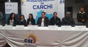 Observadores electorales quienes se interiorizarán del Voto en Casa  en Ecuador.