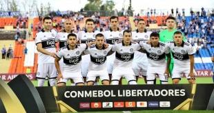 El plantel franjeado espera el juego de mañana por la asegunda fecha de la Libertadores ante la U. de Concepción. (Foto Prensa Olimpia)