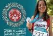La fondista Mónica Prieto consiguió la medalla de plata en la carrera de 5.000 metros.
