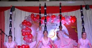 Las bailarinas de Iracema Art Company ofrecieron un verdadero espectáculo durante el acto.