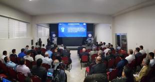 Bajo el hashtag #VAR2020APF, fue presentado el proyecto que buscará implementar la tecnología en el fútbol paraguayo. (Foto APF)