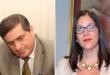 Los fiscales René Fernández y Josefina Aghemo.