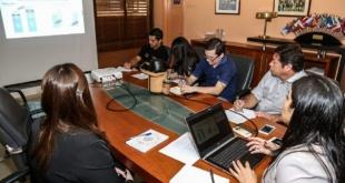 El informe fue presentado en la mañana de este martes por la directora de Política Macro-Fiscal, Viviana Casco Foto: Hacienda