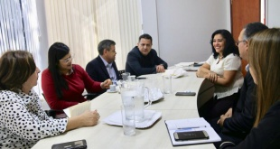 Durante la reunión interinstitucional para coordinar futuras acciones.